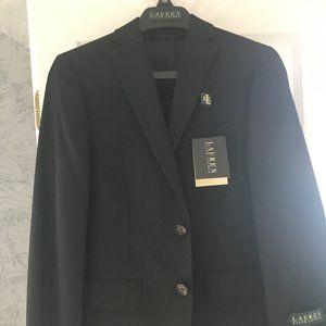 Ralph Lauren Boys Black Blazer - 10 Reg